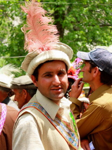 Kalash man headdress